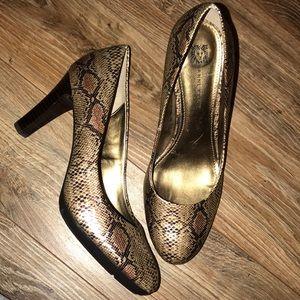 Stunning Snakeskin Pump Anne Klein iFlex Heels 🛍